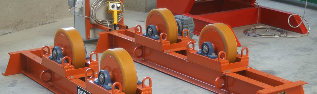 Industrial Welding Rotating Equipment by Bode